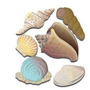 EK Success - Jolee's Boutique - 3 Dimensional Stickers - Seashells