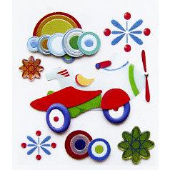 EK Success - Jolee's Boutique - Dimensional Stickers - Aero Plane, CLEARANCE