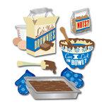 EK Success - Jolee's Boutique - 3 Dimensional Stickers - Brownies