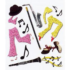 EK Success - Jolee's Boutique - Dimensional Stickers - Tap and Jazz