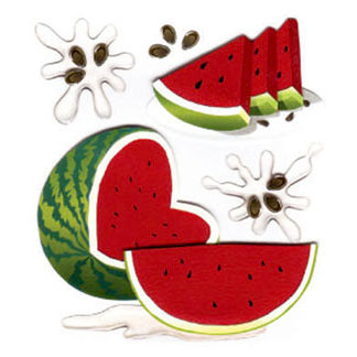 EK Success - Jolee's Boutique - 3 Dimensional Stickers - Watermelon