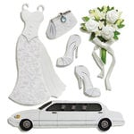 EK Success - Jolee's Boutique - 3 Dimensional Stickers - Bride, CLEARANCE