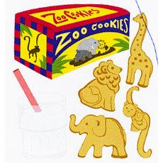EK Success - Jolee's Boutique - Dimensional Stickers - Animal Crackers