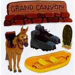 EK Success - Jolee's Boutique - Dimensional Stickers - Grand Canyon