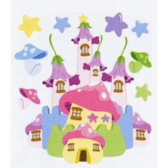 EK Success - Jolee's Boutique - Dimensional Stickers - Fairy Castle, CLEARANCE