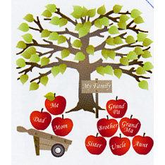 EK Success - Jolee's Boutique - Dimensional Stickers - Family Tree