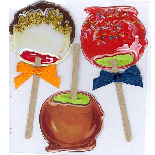 EK Success - Jolee's Boutique - 3 Dimensional Stickers - Candy Apples