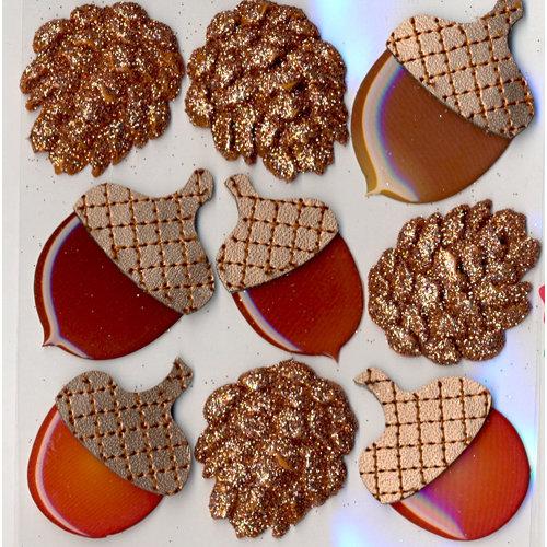 EK Success - Jolee's Boutique - 3 Dimensional Stickers - Acorns