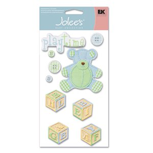EK Success - Jolee's - Baby Collection - Boy Toys