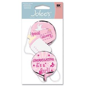 EK Success - Jolee's - Baby Collection - Girl Mylar Balloons, CLEARANCE