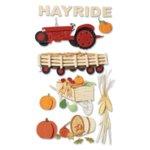Jolee's Boutique Le Grande Stickers - Hayride