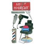 EK Success - Jolee's Boutique Le Grande Stickers - Haircut