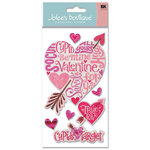EK Success - Jolee's Boutique Stickers - Valentine's Love - Cupid's Target, CLEARANCE