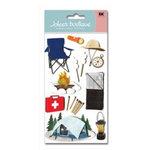 EK Success - Jolee's Boutique - 3 Dimensional Stickers - Camp