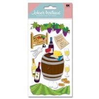 EK Success - Jolee's Boutique - Dimensional Stickers - Wine Country