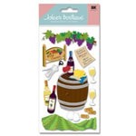 EK Success - Jolee's Boutique - Dimensional Stickers - Wine Country