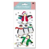 EK Success - Jolee's Boutique - Christmas - Dimensional Stickers - Penguins
