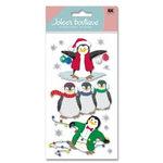 EK Success - Jolee's Boutique - Christmas - Dimensional Stickers - Penguins, CLEARANCE