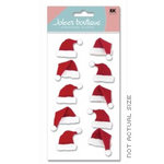 EK Success - Jolee's Boutique - Christmas - Dimensional Stickers - Santa Hats
