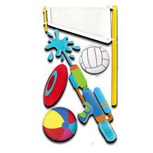 EK Success - Jolee's Boutique Le Grande Dimensional Stickers - Beach Sports