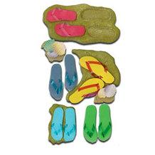 EK Success - Jolee's Boutique Le Grande Dimensional Stickers - Flip Flops