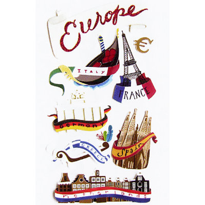 EK Success - Jolee's Le Grande - Dimensional Stickers - Europe