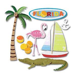 Jolee's Boutique Destination Stickers - Florida
