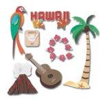Jolee's Boutique Destination Stickers - Hawaii
