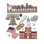 Jolee's Boutique Destination Stickers - Philadelphia