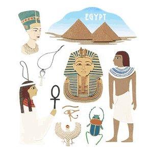 Jolee's Boutique Destination Stickers - Egypt, CLEARANCE