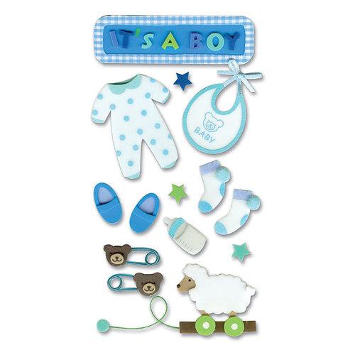 EK Success - Jolee's Foam Stickers - Baby Boy