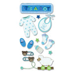 EK Success - Jolee's Foam Stickers - Baby Boy