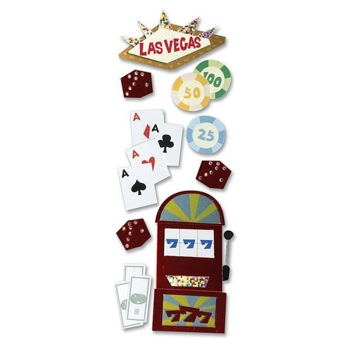 EK Success - Touch of Jolee's Dimensional Stickers  - Las Vegas