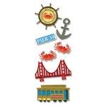 EK Success - Touch of Jolee's Dimensional Stickers  - San Francisco