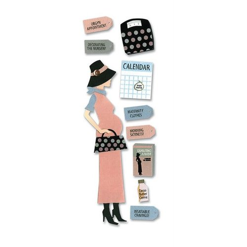 EK Success - Touch of Jolee's Dimensional Stickers  - Pregnancy