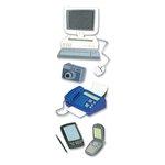 EK Success - Touch of Jolee's Dimensional Stickers  - Tech Gadget - Computer - Fax - Cell - Camera