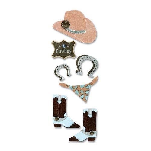 EK Success - Touch of Jolee's Dimensional Stickers  - Cowboy