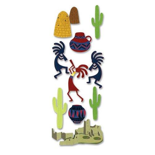 EK Success - Touch of Jolee's Dimensional Stickers  - Southwest