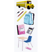 EK Success - Touch of Jolee's - Dimensional Stickers - Back To School