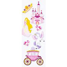 EK Success - Touch of Jolee's - Dimensional Stickers - Princess