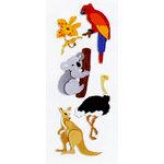 EK Success - Touch of Jolee's - Dimensional Stickers - Australian Animals