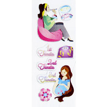 EK Success - Touch of Jolee's - Dimensional Stickers - Pregnancy
