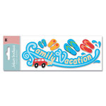 EK Success - Jolee's Boutique - Title Waves Dimensional Stickers - Family Vacation