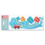 EK Success - Jolee's Boutique - Title Waves Dimensional Stickers - Family Vacation
