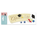 EK Success - Jolee's Boutique Dimensional Stickers - Graduation Collection - Title Waves - The Graduate