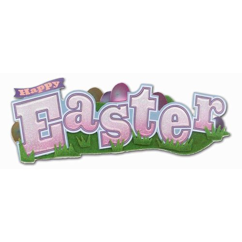 EK Success - Jolee's Boutique - Title Waves - Dimensional Stickers - Happy Easter Title
