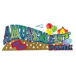 EK Success - Jolee's Boutique - 3 Dimensional Title Stickers - Amusement Park