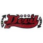 EK Success - Jolee's Boutique - Title Waves - Dimensional Stickers - Devil Title