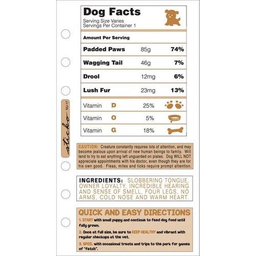 EK Success - Sticko Ingredient Stickers - Dog