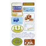 EK Success - Sticko Semi Layered Stickers - Travel Signs